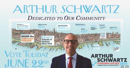 Athhur Schwartz Campaign Ad