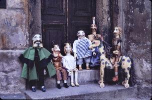 Czech Puppets in Prague