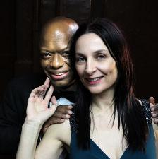 Byron Singleton and Eilin O'Dea. Photo by Jonathan Slaff.