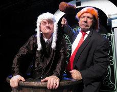 Judge & Carrot Top photo