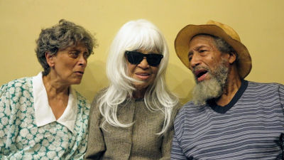 L-R: Edythe Jason, Dorothi Fox, Arthur French. Photo by Jonathan Slaff.