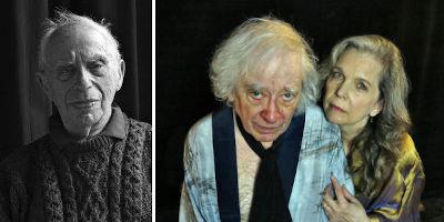 Bernard Kops and cast
